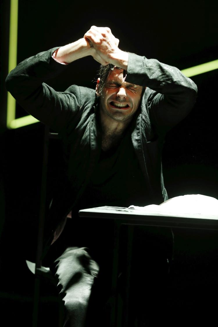 BAAL von Bertolt Brecht im Berliner Ensemble/ Probebuehne